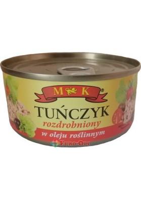M&K Tunczyk w Oleju (Тунец Дроблённый в Растительном Масле) 170g.