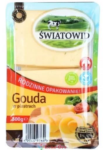 Сыр Swiatowid Gouda(Гауда Твердый) 300g.