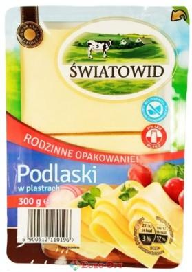 Сыр Swiatowid Podlaski (Резаный Пластинами) 300g.
