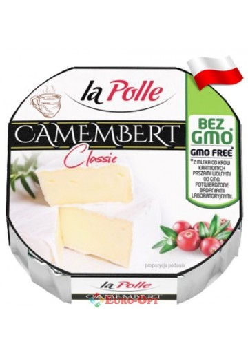 Сыр La Polle Camembert Classic (Камамбер Класик) 120g.