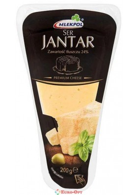 Сыр Mlekpol Jantar (Пармезан Янтарь) 200g.