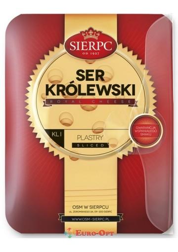 Сыр Sierpc Ser Krolewski (Королевский Сыр Нарезка) 135g.