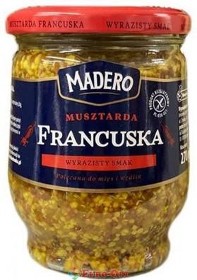 Французская Горчица Madero Musztarda Francuska 270g.