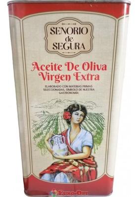 Senorio de Segura Oliva Virgen Extra 5000ml.