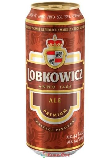 Пиво Lobkowicz Premium Ale (Лобковиц Премиум Ель) 500ml.