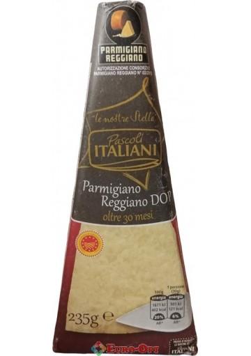 Сыр Parmigiano Reggiano Pascoli Italiani 30 Mesi (Пармиджано Реджано) 235g.