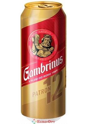 Пиво Гамбринус 12 (Гамбринус 12) 500ml.