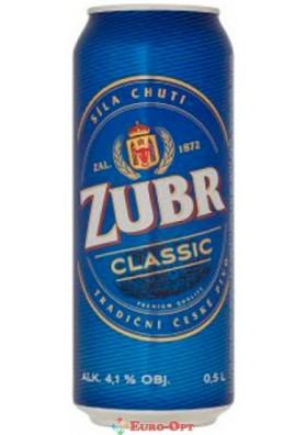 Пиво Zubr Classic (Зубр Класік) 0.5l.