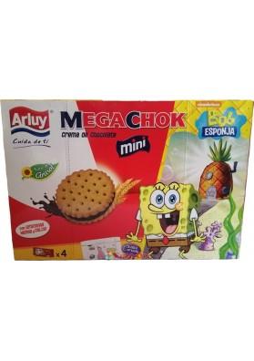 Печенье Arluy Mega Chok Bob Esponja 148g.