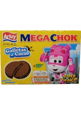 Печенье Arluy Mega Chok Super Wings 148g.