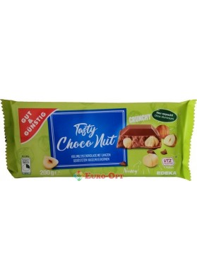 Шоколад Tasty Choco Nut Edel Nuss 200g.