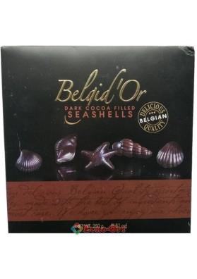 Конфеты Belgid'Or Dark Cocoa Filled Seashells 250g.