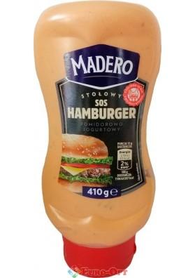 Соус Madero Sos Hamburger (Мадеро Гамбургер) 410g.