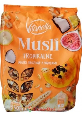 Musli Vitanella Tropikalne (Тропические фрукты) 350g.