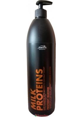 Шампунь Joanna Milk Proteins Professional (Для Сухих и Поврежденных Волос) 1000ml.