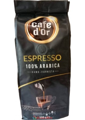Кава в зернах Cafe D`or Espresso (Кафе Д`ор Еспрессо) 500g.