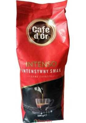 Кава в зернах Cafe d'Or Intenso (Кафе Д`ор Інтенсив) 500g.