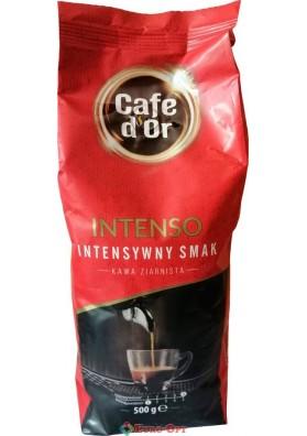 Кофе в зернах Cafe d'Or Intenso (Кафе Д`ор Интенсо) 500g.