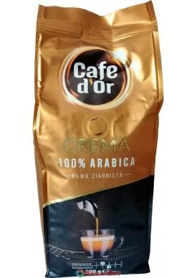 Кава в зернах Cafe d'Or Crema (Кафе Д`ор Крему) 500g.