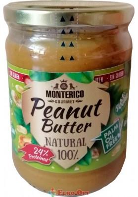 Арахисовая паста Monterico Peanut Butter 500g.