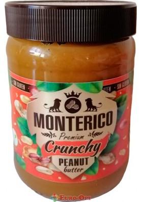 Арахисовая паста Monterico Crynchy Peanut Butter 500g.