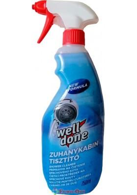 Очиститель для Душевых Кабин Well Done Zuhanykabin Tisztító 750ml.
