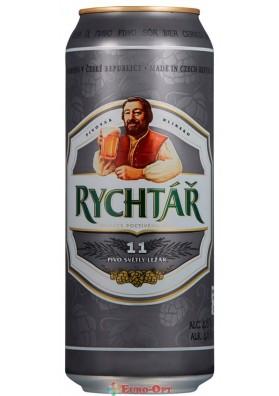 Пиво Rychtar Svetly Lezak (Ріхтар) 500ml.