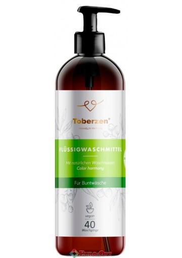 Натуральный жидкий порошок Toberzen Color Harmony (Тоберзен Гармония Цвета) 1000ml.