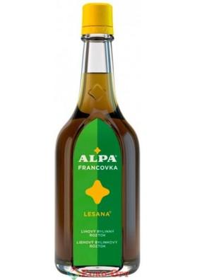 Спиртовий трав'яний розчин Alpa Francovka Lesana (Альпа Францовка Лесана) 160ml.