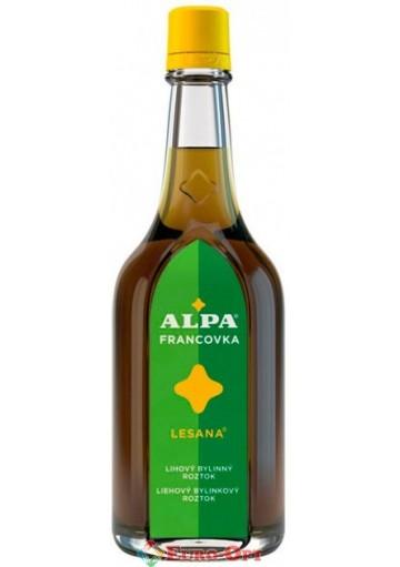 Спиртовый травяной раствор Alpa Francovka Lesana (Альпа Францовка Лесана) 160ml.