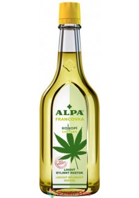 Спиртовый травяной раствор Alpa Francovka Konopi (Альпа Францовка Конопляная) 160ml.