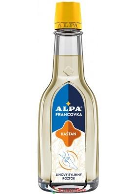 Спиртовый травяной раствор Alpa Francovka Kastan (Альпа Францовка Каштан) 60ml.