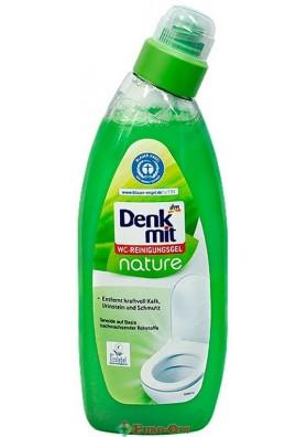 Средство для чистки унитаза Denkmit WC-Reinigungsgel Nature 750ml.