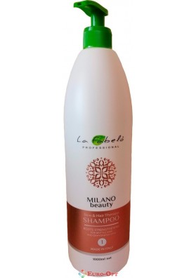Шампунь La Fabelo Professional Milano Beauty Skin & Hair Therapy 1000ml.