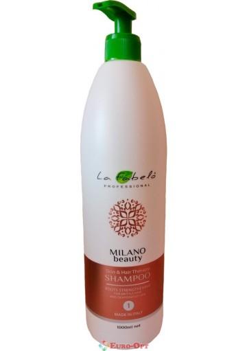 Шампунь La Fabelo Professional Milano Beauty Skin & Hair Therapy 1000ml.