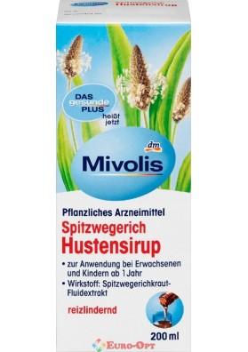 Сироп від Кашлю Mivolis Spitzwegerich Hustensirup 200ml.