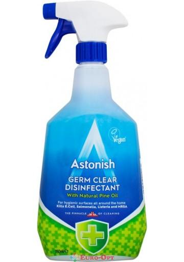 Дезинфицирующее Средство Astonish Germ Clear Disinfectant 750ml.
