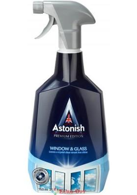 Засіб для миття вікон і Зеркал Astonish Window & Glass 750ml.