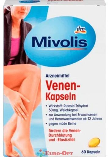 Капсулы для Укрепления Вен при Варикозе Mivolis Venen Kapseln 60 caps