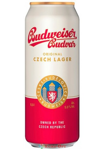 Budweiser Original (Будвайзер Оригинал) 0,5l