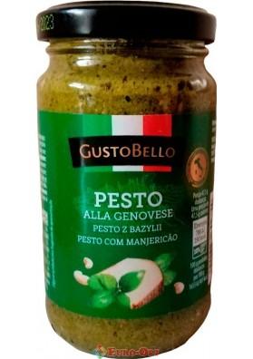 Соус GustoBello Pesto Alla Genovese 190g.