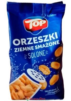Арахис соленый Top Orzeszki Ziemne Smazone 400g.