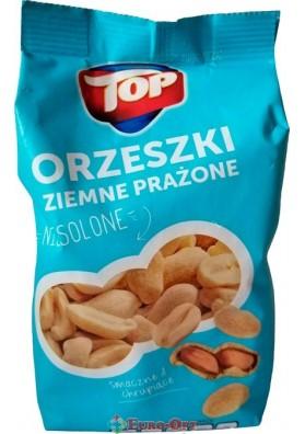 Арахис несоленый Top Orzeszki Ziemne Prazone 400g.