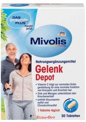 Вітамінний Комплекс для Хрящів і суглобів Mivolis Gelenk Depot 30 Tabletten