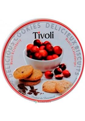 Клюквенное печенье с мюсли Tivoli 150g