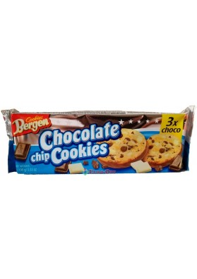 Печиво Bergen Chocolate Chip Cookies 3x Choco 150г