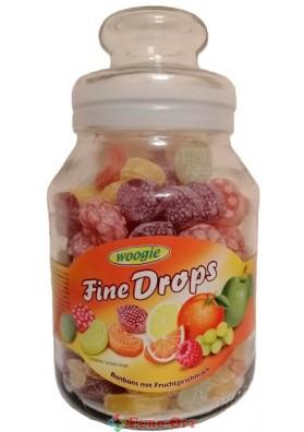 Леденцы Woogie Fine Drops Frucht 960g