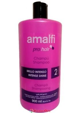 Шампунь Amalfi Intense Shine Shampoo (З Протеїнами Шовку) 900ml.