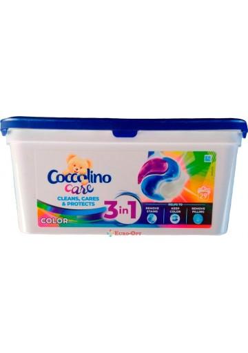 Капсулы для Стирки Coccolino Color 29 Caps