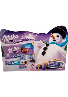 Новогодние Конфеты Milka Oreo Box 182g.